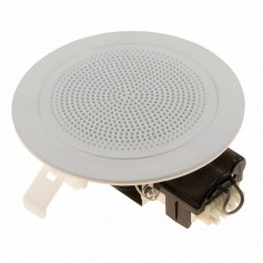 Low Profile Flush Mount Speaker White 100mm