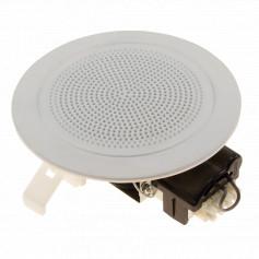 Low Profile Flush Mount Speaker White 100mm
