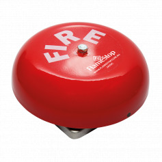 "6"" Red Fire Bell 150mm 12VDC"