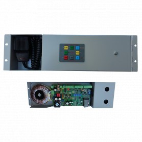 "120 Watt 19"" Rack-Mount Occupant Warning System Amplifier"