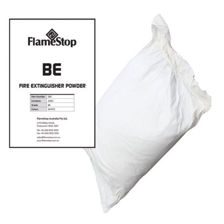 BE Premium Extinguisher Powder 25kg Bag