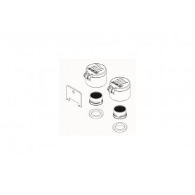 Eye Wash Outlet Includes Dustcovers & Aerators (Pair)
