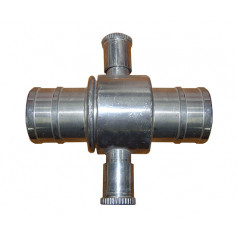 BIC Alloy Coupling/Fitting 65mm - 65mm