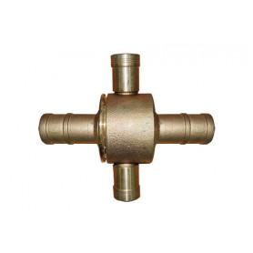 BIC Brass Coupling/Fitting 65mm > 38mm - Brass