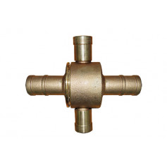 BIC Brass Coupling/Fitting 65mm > 38mm - Brass