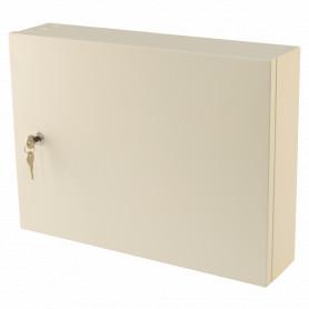 Small Metal Storage Cabinet - Milk White