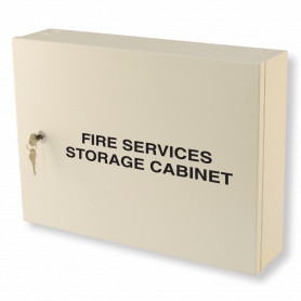 Fire Services Storage Cabinet - Milk White