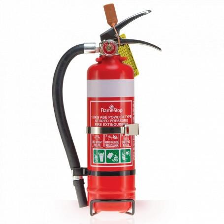 FlameStop 1.0kg - Hose ABE Powder Type Portable Fire Extinguisher