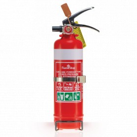 FlameStop 1.0kg - Nozzle ABE Powder Type Portable Fire Extinguisher