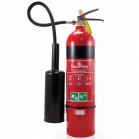 FlameStop 5.0kg CO2 Type Portable Fire Extinguisher