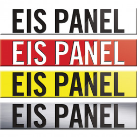 300 x 60mm EIS Panel Signs