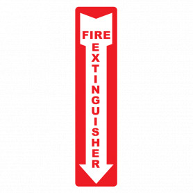 Extinguisher Arrow Vertical Location