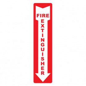 Extinguisher Arrow Vertical Location