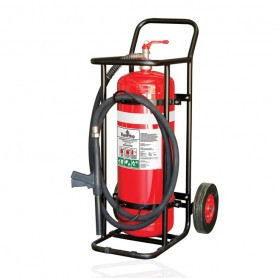 FLAMESTOP 50KG ABE Mobile Extinguisher - Solid Rubber Wheel