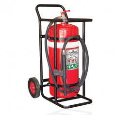FLAMESTOP 70KG BE Mobile Extinguisher - Solid Rubber Wheel