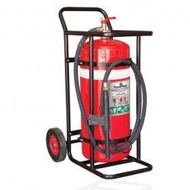FLAMESTOP 90KG BE Mobile Extinguisher - Solid Rubber Wheel