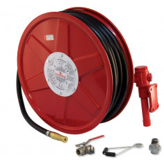 FLAMESTOP Hose Reel 36m x 19mm Swing Arm