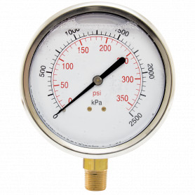 Hydrant Pressure Gauge - Wet - Large (100mm)