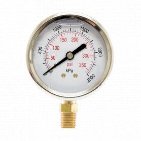 Hydrant Pressure Gauge - Wet - Small (63mm)