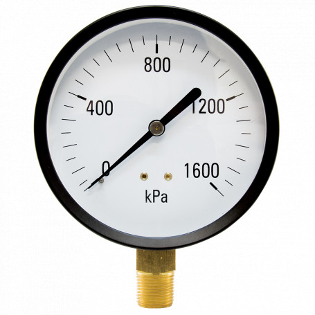 Hydrant Pressure Gauge - Dry - Large (100mm)