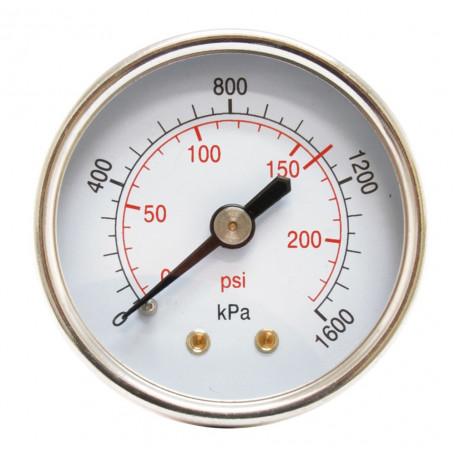 Hydrant Pressure Gauge Dry Rear Entry Gauge