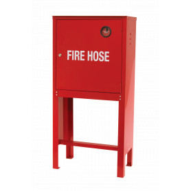 Lay Flat Hose Cabinet with Stand