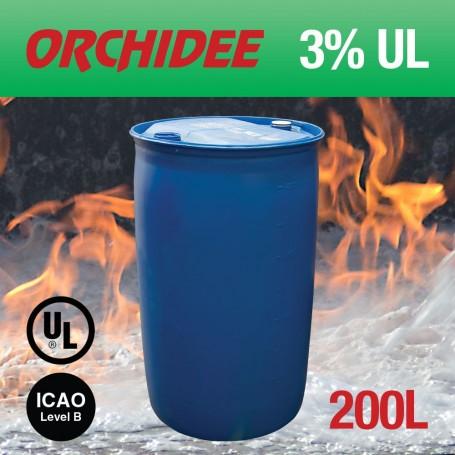 Orchidee 3% AFFF UL Foam Concentrate 200L Drum