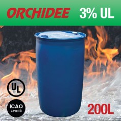 Orchidee 3% AFFF UL Foam Concentrate 200L Drum