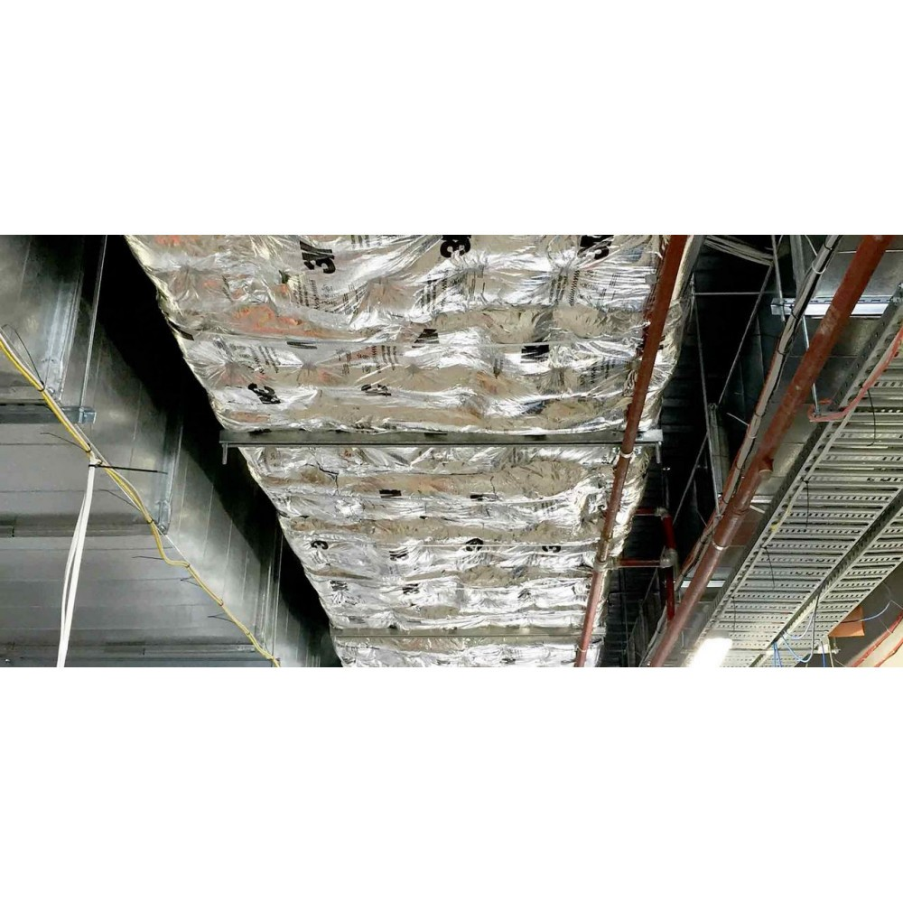 Joists penetrate fire barrier — photo 9