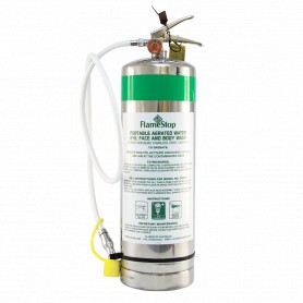 Eyewash Extinguisher - Aerated Water