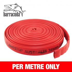 FlameStop Barracuda - 38mm x 1m Rubber Layflat Hose