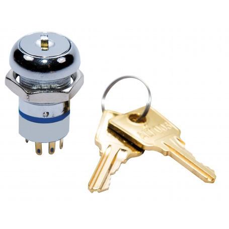 003 Key 2 Position Switch with 2 x Keys