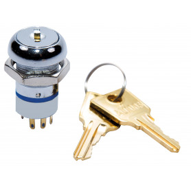 003 Key 3 Position Switch (RHS Remove) with 2 Keys