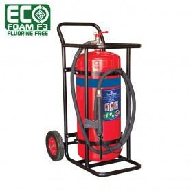 FLAMESTOP 70L ECO Foam F3 Fluorine Free Mobile Extinguisher - Solid Rubber Wheel