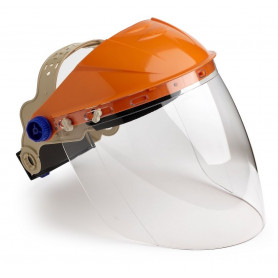 Assembled Browguard with Clear Visor
