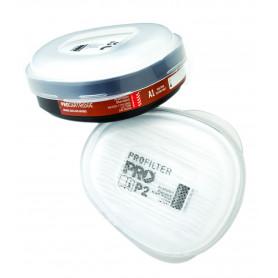 A1P2 Filter Cartridges for HMTPM Half Mask. (Pair)