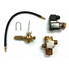 CO2 System Valve with combination Actuation