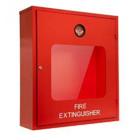 Double Fire Extinguisher Cabinet Metal - Heavy Duty