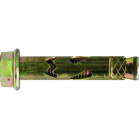6.5mm x 56mm HEX Masonbolt - Zinc