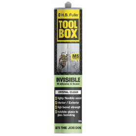 ToolBox Invisible Multi-Use Adhesive and Sealant 300g