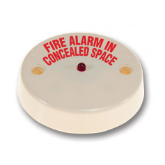 Remote Indicator - Fire Alarm in Concealed Space