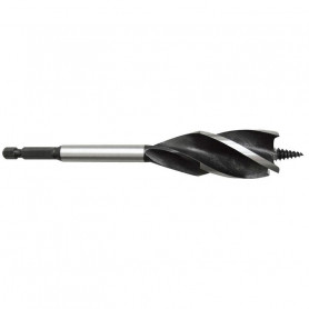 25mm TurboMAX Auger 4 Cutter with HEX Shank - Carded