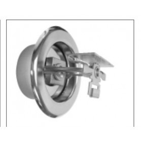 Residential Horizontal Chrome Sprinkler - F1RES44
