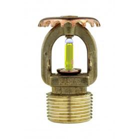 Standard Response Upright Brass Sprinkler - F1LO (SIN: RA1722)