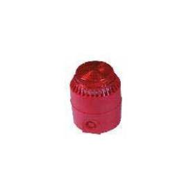 Sounder/Strobe 12V Red