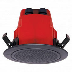 Flush Mount Speaker with Grill AS7240.24 Approved - Black