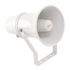 10W 100V IP66 White Plastic Fire Horn