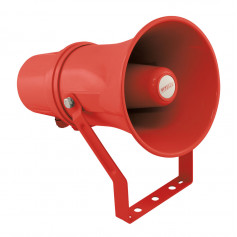 10W 100V IP66 Red Plastic Fire Horn