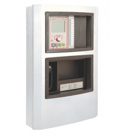 EDWARDS EST3X - Fire Alarm Panel with Single Loop in WHITE cabinet