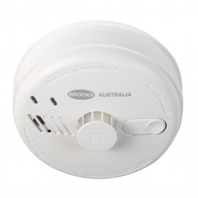 BROOKS 140 SERIES Mains Powered HEAT Alarm with 9V Alkaline Battery